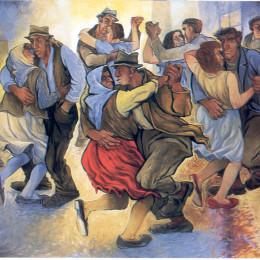 dipinto di Romano Buratti